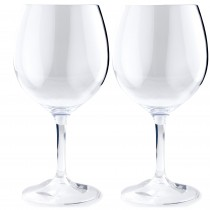 GSI Glacier Nesting Red Wine Glass 445ml 2 pack