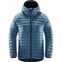 Haglofs Essens Mimic Hood Women's Jacket - Silver Blue/Dense Blue
