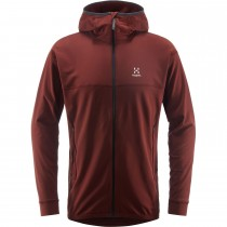 Haglofs Lithe Hood - Mens - Maroon Red