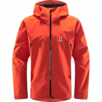Haglofs Roc GTX Waterproof Jacket - Men's - Habanero