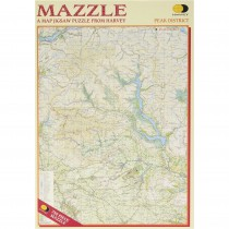 Harvey Mazzle Peak District Map Jigsaw Puzzle