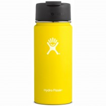 HYDRO FLASK - 16oz Wide Mouth Flask - Lemon