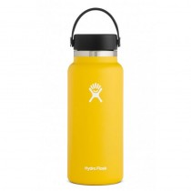 HYDRO FLASK - 32oz Wide Mouth Insulated Bottle - Sunflower
