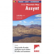 Assynt British Mountain Map by BMC