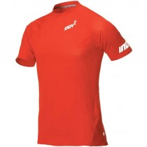 Inov8 Base Elite SS Men's Baselayer T-Shirt - Red