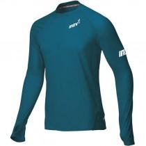 Inov8 Base Elite LS Men's Baselayer T-Shirt - Blue/Green