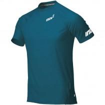Inov8 Base Elite SS Men's Baselayer T-Shirt - Blue/Green