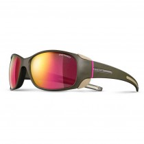 Julbo Monterosa Sunglasses - Spectron 3 CF - Army/Camel/Pink - Pink ML Lens