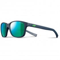 Julbo Powell Sunglasses - Matt Dark Blue / Green - Spectron 3 CF - Green Flash Lens