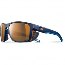 Julbo Shield - Blue / Blue / Orange - Reactiv Cameleon - Brown Lens