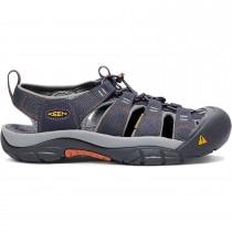 Keeen Newport H2 Sandals - Men's - India Ink/Rust