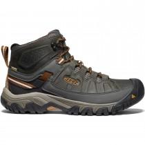 Keen Targhee III Mid Waterproof Men's Hiking Boots - Black Olive/Golden Brown