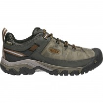 Keen Targhee III Waterproof Men's Hiking Shoes - Black Olive/Golden Brown