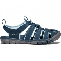 KEEN Clearwater CNX Sandals - Women's - Navy/Blue Glow