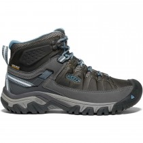 Keen Targhee III Mid Waterproof Women's Hiking Boots - Magnet/Atlantic Blue
