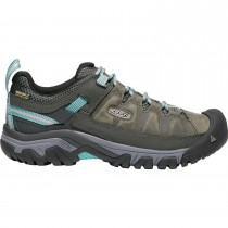 Keen Targhee III Waterproof Women's Hiking Shoes - Alcatraz/Blue Turquoise