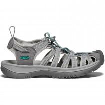 Keen Whisper Sandals - Women's - Medium Grey/Peacock