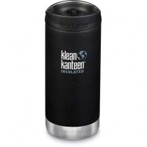 Klean Kanteen Insulated TKWide w/ Café Cap 355ml - Shale Black