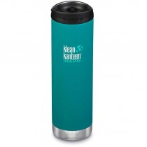 Klean Kanteen Insulated TKWide w/ Café Cap 592ml - Emerald Bay