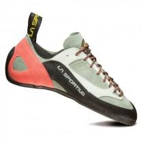 La Sportiva Finale Climbing Shoe - Women's - Grey/Coral