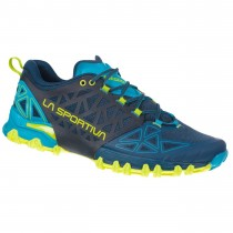 LA SPORTIVA - Bushido Trail Running Shoe - Opal/Apple Green