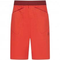 La Sportiva Flatanger Men's Shorts - Poppy/Chilli