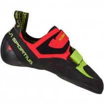 La Sportiva Kubo Climbing Shoe - Men's - Goji/Neon