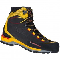 La Sportiva Trango Tech Leather GTX Mountain Hiking Boots - Men's - Black/Yellow
