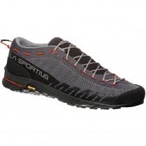 La Sportiva TX2 Approach Shoe - Carbon/Tangerine