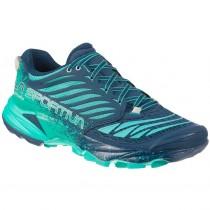 LA SPORTIVA - Akasha Trail Running Shoe - Women's - Opal/Aqua