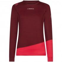 La Sportiva Dash Long Sleeve Top - Women's Baselayer - Wine/Orchid