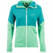 LA SPORTIVA Eagle Women's Fleece Hoody - Emerald/Spruce