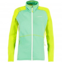 LA SPORTIVA Luna Women's Fleece Jacket - Spruce/Apple Green