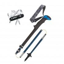 Leki Micro Vario Carbon Trekking Pole & penknife