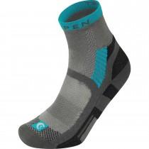 Lorpen T3 Light Hiker Shorty Socks - Grey