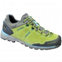 Mammut Alnasca Low GTX® Womens Climbing Approach Shoes | Dark Sprout/Grey
