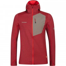 Mammut Aconcagua Light ML Hooded Fleece Jacket - Men's - Spicy Tin