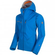 Mammut Eisfeld Guide SO Hooded Softshell Jacket - Men's - Ice