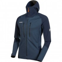 Mammut Eiger Extreme Eiswand Advanced ML Hooded Jacket - Men's - Night