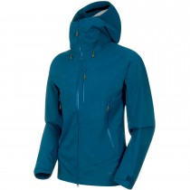Mammut Kento HS Hooded Waterproof Jacket - Poseidon