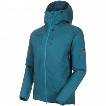 Mammut Rime IN Flex Hooded Jacket - Men's - Wing Teal