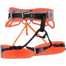 Mammut Comfort Fast Adjust Harness - Women - Shark/Safety Orange