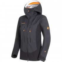 Mammut Eisfeld Guide SO Hooded Softshell Jacket - Women's - Black