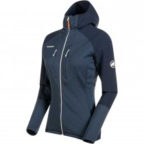Mammut Eiger Extreme Eiswand Advanced ML Hooded Jacket - Women's - Night