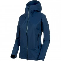 Mammut Kento HS Hooded Women's Waterproof Jacket - Peacoat