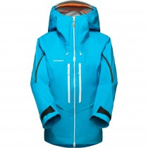 Mammut Nordwand Advanced HS Hooded Jacket - Womens - Sky