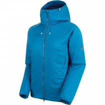Mammut Rime IN Flex Hooded Jacket - Women's - Sapphire