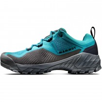 Mammut Sapuen Low GTX Hiking Shoes - Women's - Dark Ceramic/Black