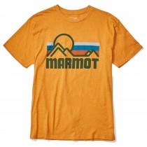 Marmot Coastal Tee - Mens - Aztec Gold Heather
