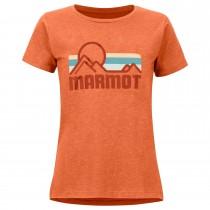 Marmot Coastal Tee SS - Women's - Amber Heather